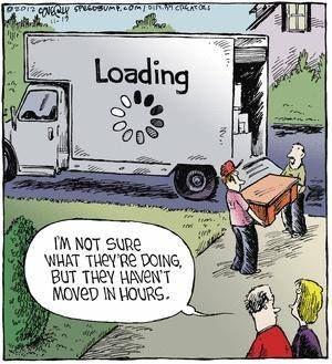 HUMOR - Loading & Unloading...