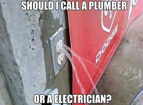 HUMOR - Electrical & Plumbing Repair - 103019